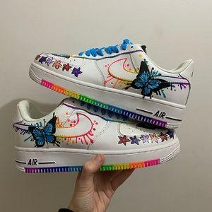 GRADE SCHOOL SIZED - Butterfly Rainbow Explosion